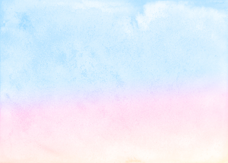 Abstract pastel watercolor background. Imagens