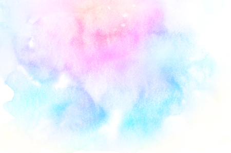 Abstract Pastel watercolor background.