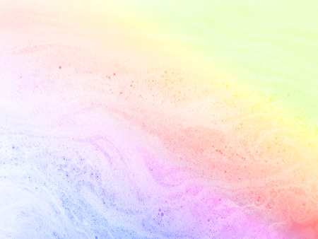 Abstract pastel marble bubble foam background. Rainbow background.