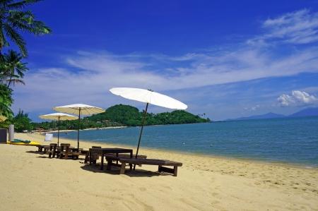 Spiaggia di Bophut a Koh Samui Thailandia Archivio Fotografico