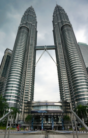 tall buildings: Petronas Twin Towers Editorial