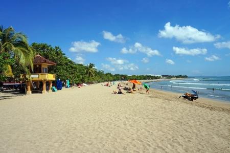バリ島のクタのビーチ