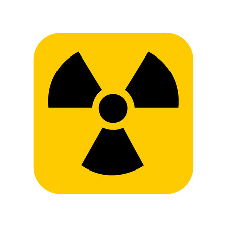 Radiation icon vector. Radiation Vector illustration. Imagens - 119616270