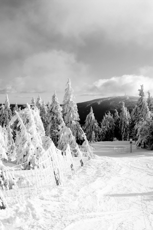 winder: wonderful winder landscape in the mountain Stock Photo