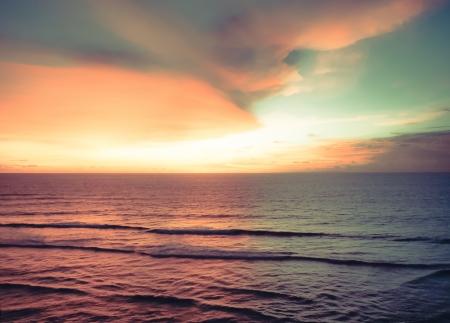 a beach of Bali Island on a hot summer day Standard-Bild