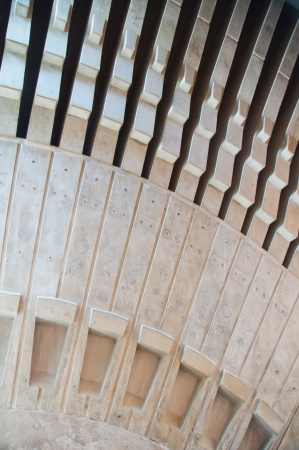 utzon: Detail of the inside dome structure