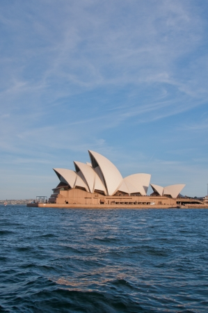 utzon: Harbour View of the iconic building Editorial