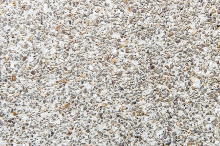 The pebble concrete floor use as texture background photo