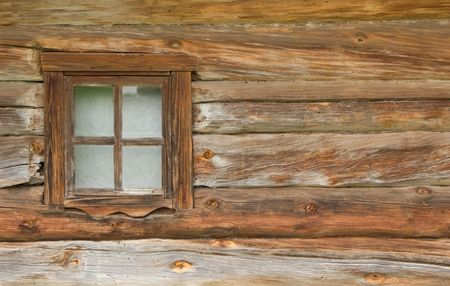 windows frame: old window