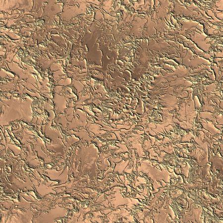 iron ore: copper seamless texture