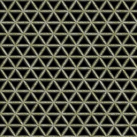rusty ornamental lattice seamless texture Stock Photo - 3631466