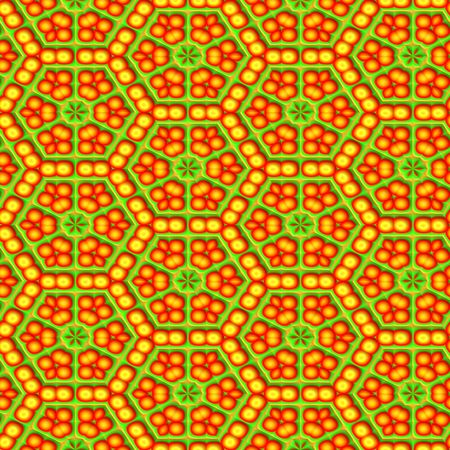 jamaican ethnicity: seamless ornament background