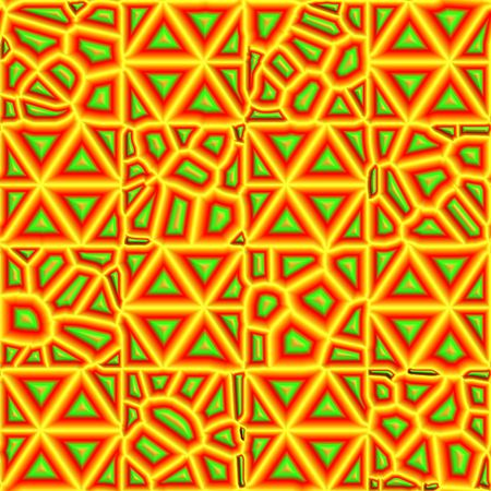 jamaican ethnicity: abstract mosaic seamless background
