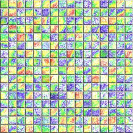 mosaic tile: senza soluzione di piastrelle di mosaico tessitura Archivio Fotografico