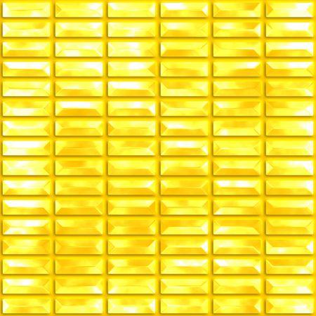 golden blocks seamless background Stock Photo - 3757795