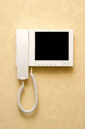 video intercom equipment Stock Photo