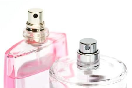 perfume spray: perfume bottles