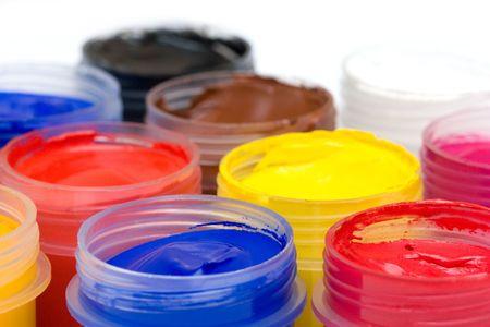 gouache: gouache paint