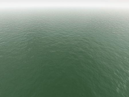 algal: green dirty water