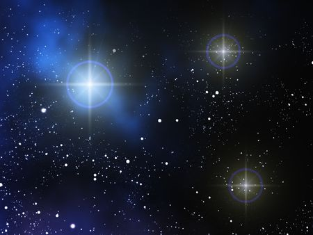 stellate: space