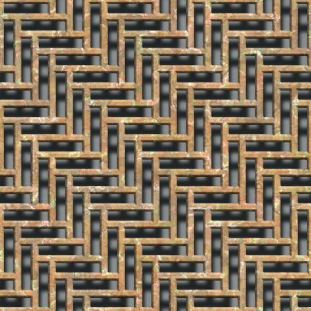 grate seamless background Stock Photo - 6823299