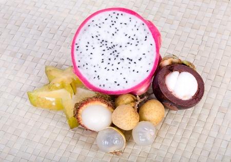 south east asian: Frutas ex�ticas del sudeste asi�tico
