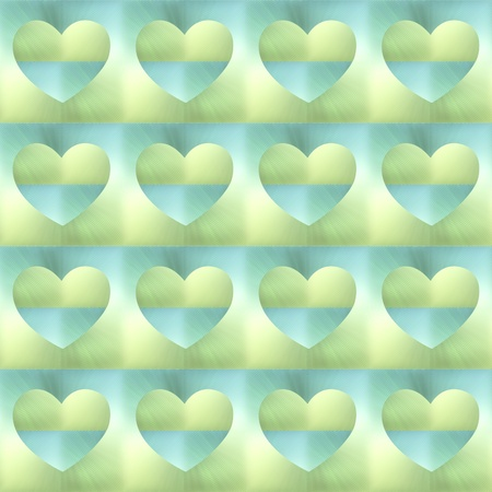 holographic: holographic hearts. seamless background