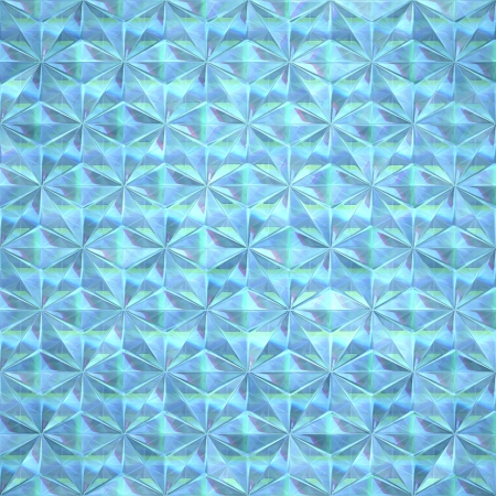 Aquamarine crystal  Seamless texture  photo