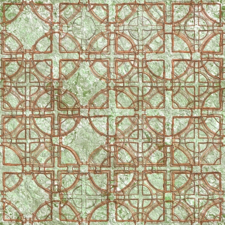 Old relief fresco  Seamless pattern Stock Photo - 14094355