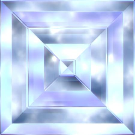 beryl: Beryl crystal. Seamless texture. Stock Photo