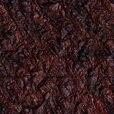 tectonics: Red hot stone. Seamless texture. Stock Photo