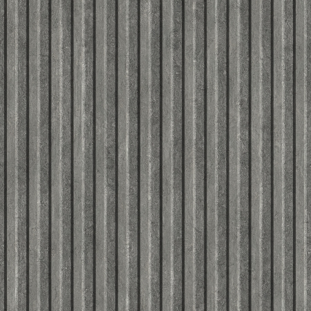 Corrugated Metal. Seamless texture.  Stock Photo