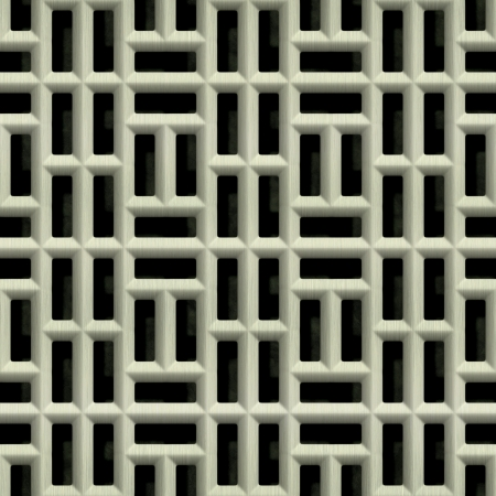 Steel grate. Seamless texture.  Stock Photo - 14436495