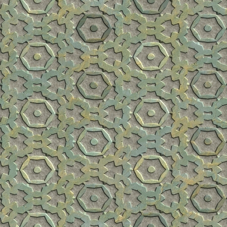 Metallic assembly. Seamless texture.  photo