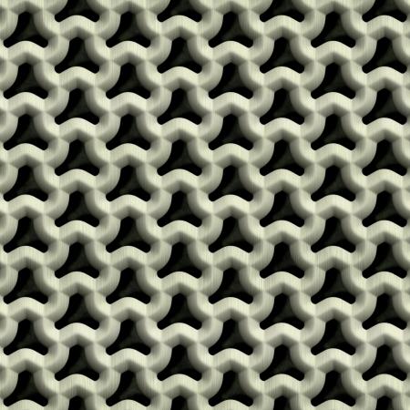 Steel grate  Seamless texture Stock Photo - 14766635