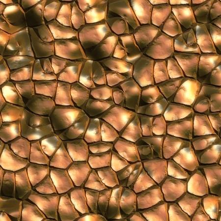 Bronze. Seamless texture.  photo