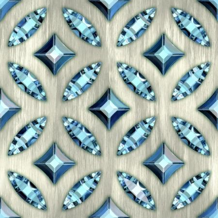 Gems. Seamless background.