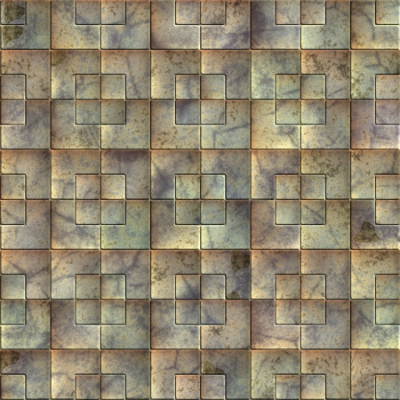 Metal tile. Seamless texture. Stock Photo - 14835931