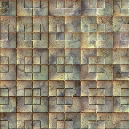 Metal tile. Seamless texture. Stock Photo - 14835931