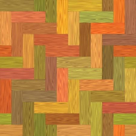 Multicolor parquet. Seamless texture.