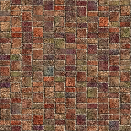 Dark pavement. Seamless texture.  Stock Photo - 14835978