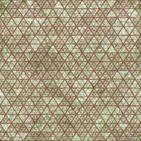 Old relief fresco. Seamless pattern. Stock Photo - 15138144
