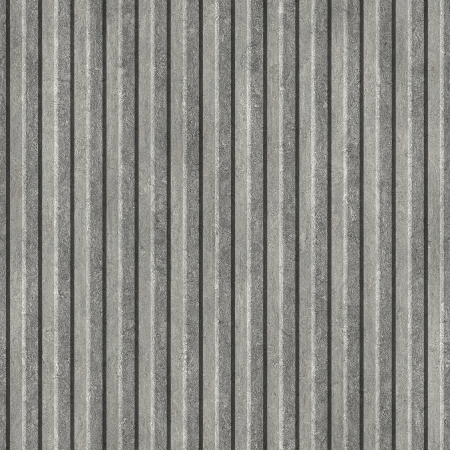 ribbed: Corrugated metal. Seamless texture.  Stock Photo