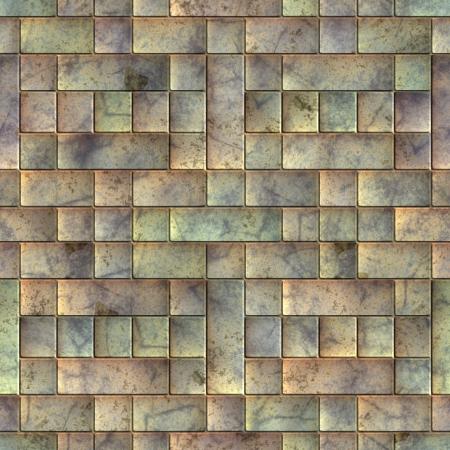 Metal tile. Seamless texture. Stock Photo - 15222631