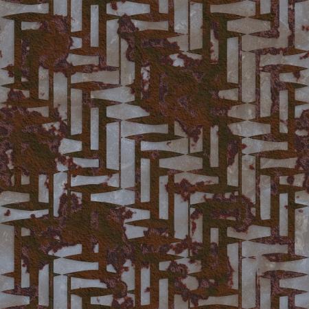 Rust  Seamless texture  photo
