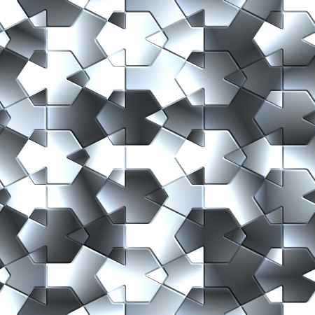 Mirror tile. Seamless texture. photo