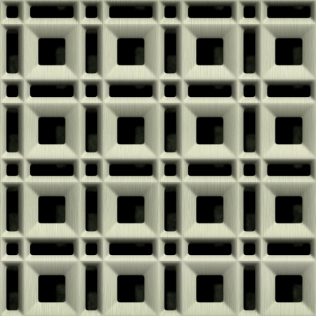 Steel grate. Seamless texture.  Stock Photo - 15823475