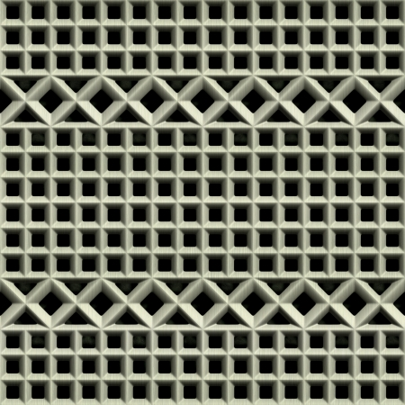 Steel grate. Seamless texture. Stock Photo - 15823480
