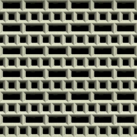 Steel grate. Seamless texture.  Stock Photo - 15823468