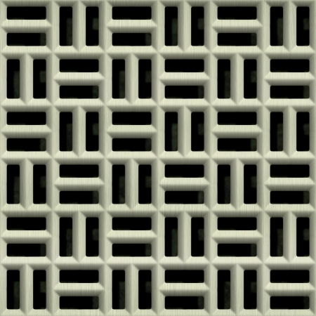 Steel grate. Seamless texture.  Stock Photo - 15823470